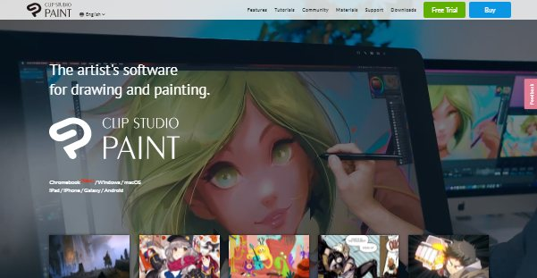 Клип Studio Paint