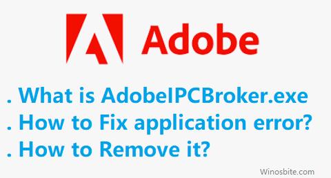 Исправление ошибки файла Adobeipcbroker