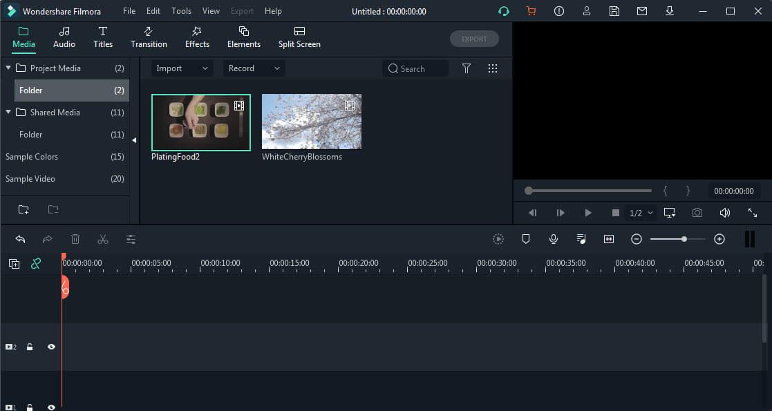Программное обеспечение для редактирования видео Filmora