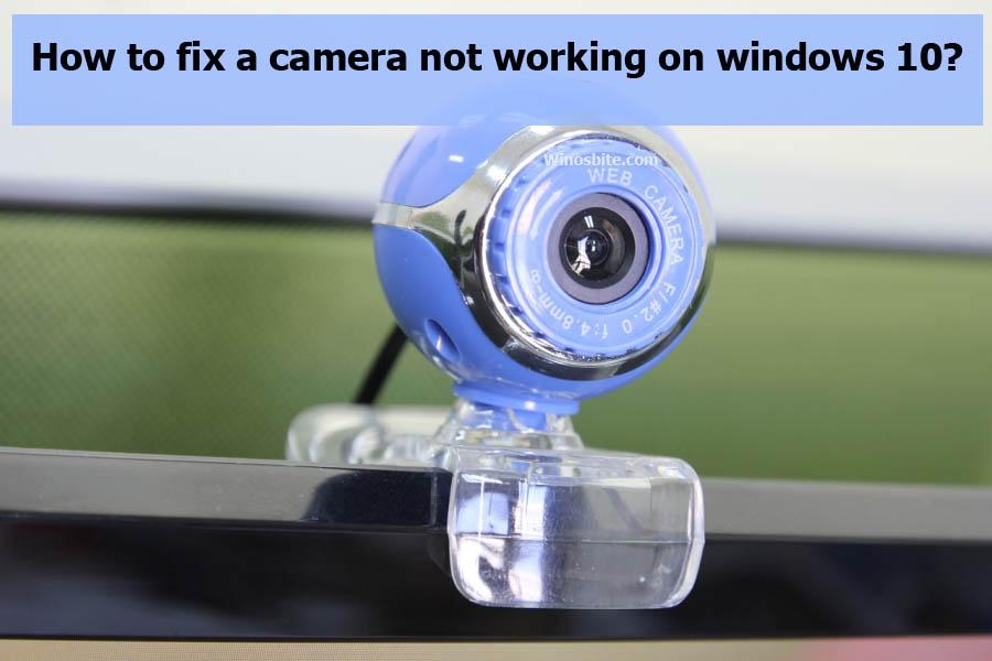 Исправить камеру, не работающую в Windows 10