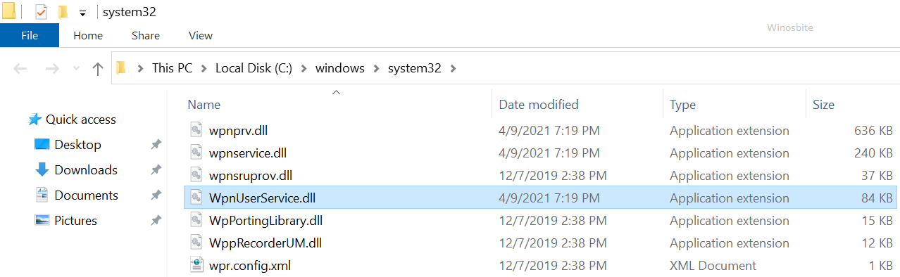 wpnuservice.dll файл