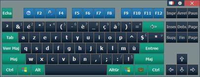 Комфортная экранная клавиатура lite