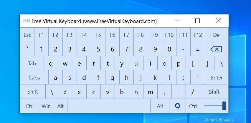 бесплатная виртуальная клавиатура
