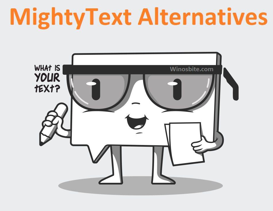 Альтернативы Mightytext