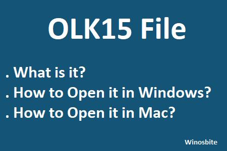 Что такое файл olk15