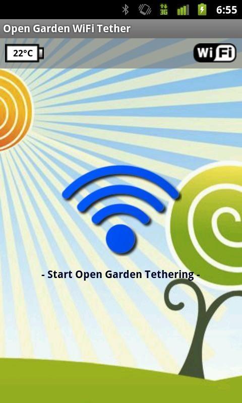 Программное обеспечение Open Garden Wi-Fi