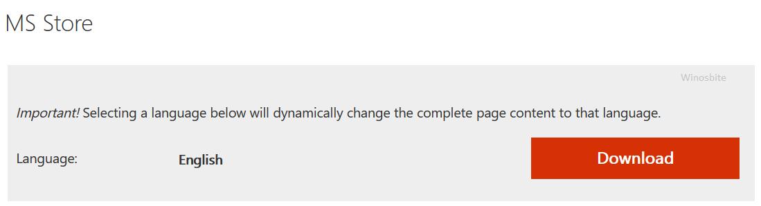 Скачать приложение ms store для Windows 10